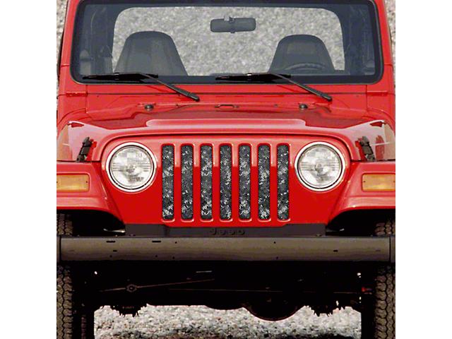 Dirty Acres Grille Insert - Urban Camo (97-06 Jeep Wrangler TJ)