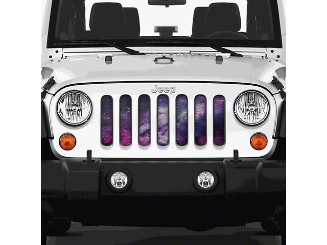 Dirty Acres Grille Insert - Waa Waa White Space (07-18 Jeep Wrangler JK)
