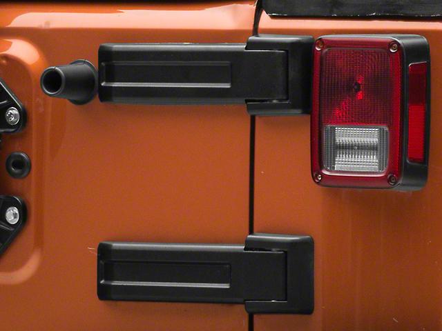 Upper Tailgate Hinge Cover (07-18 Jeep Wrangler JK)