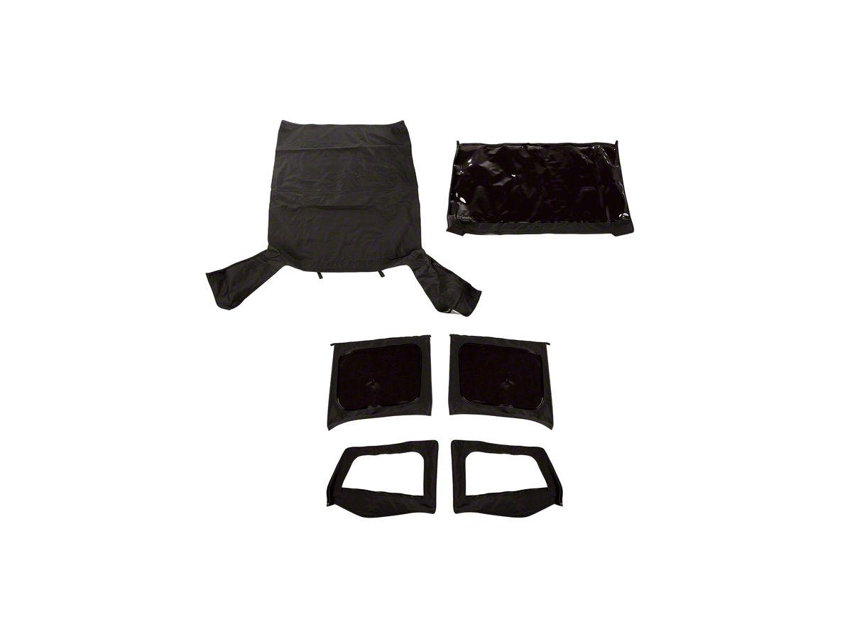 Stupendous Rugged Ridge Montana Soft Top W Door Skins Black Diamond 88 95 Jeep Wrangler Yj Ncnpc Chair Design For Home Ncnpcorg