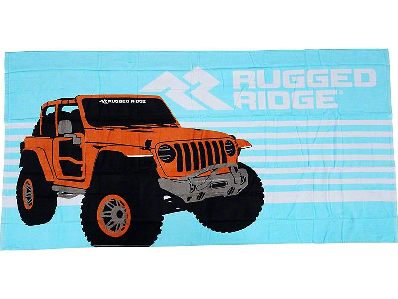 Rugged Ridge Beach Towel