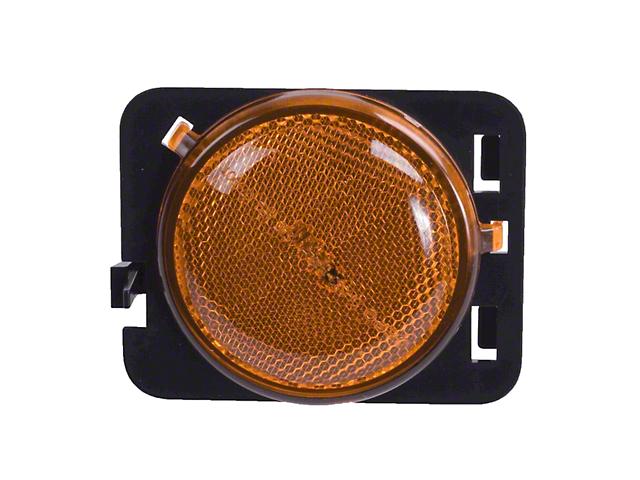 Amber Side Marker Lamp - Driver Side (07-18 Jeep Wrangler JK)