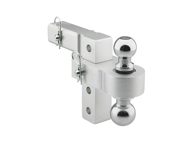 Smittybilt 2 in. Receiver Hitch Adjustable Ball Mount - 6 in. Drop Hitch (Universal Fitment)