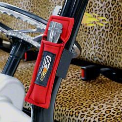 EK Motorsports Neoprene Flashlight Holder - Red