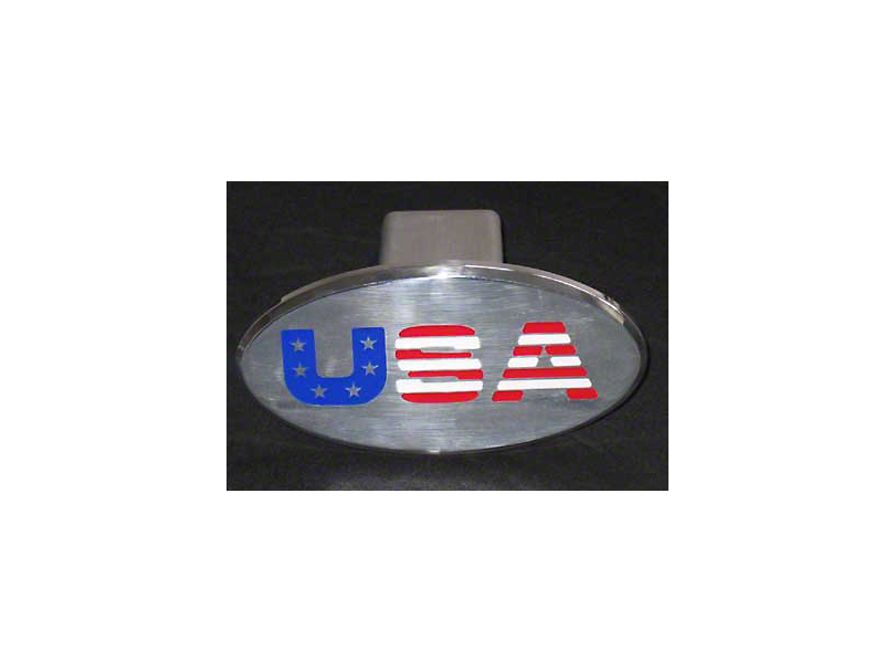 USA Logo Hitch Cover (87-20 Jeep Wrangler YJ, TJ, JK & JL)