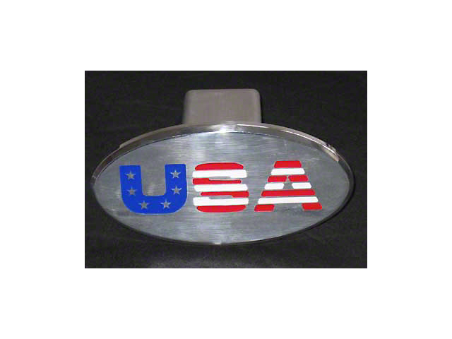 USA Logo Hitch Cover (Universal Fitment)