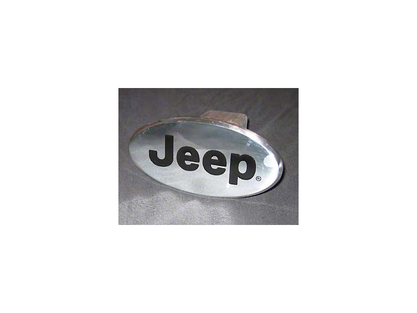 Hitch Cover with Jeep Logo (Universal Fitment)