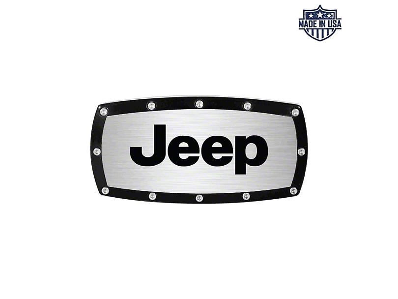 Jeep Logo Billet Hitch Cover (87-20 Jeep Wrangler YJ, TJ, JK & JL)