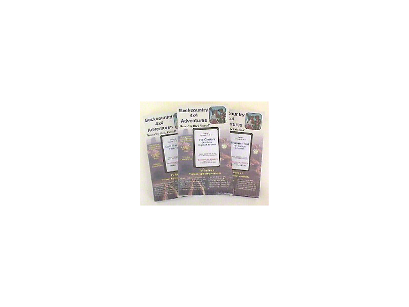 Rick Russells Backcountry 4x4 Adventures (DVD)