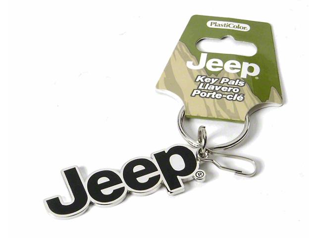Enamel Keychain with Jeep Logo