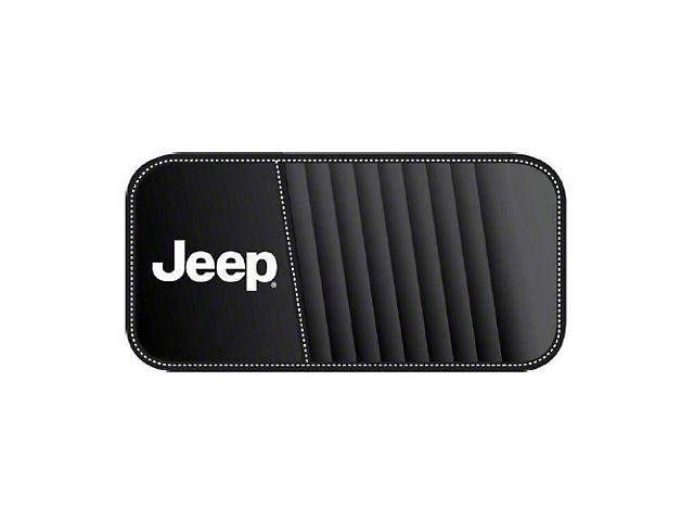Alterum Jeep Logo CD & DVD Visor Organizer