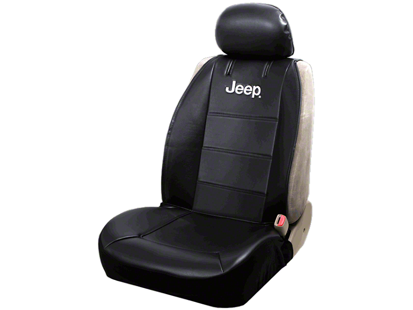 Alterum Jeep Wrangler Jeep Logo Sideless Seat Cover