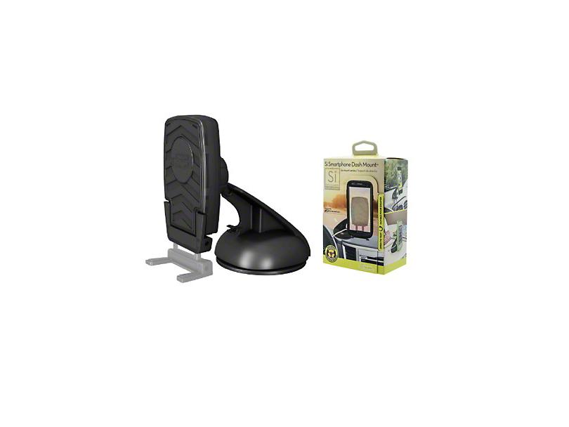 Bracketron Si Smartphone Dash Mobile Device Mount (87-18 Jeep Wrangler YJ, TJ, JK & JL)
