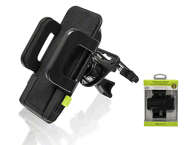 Bracketron TekGrip Vent Mobile Device Mount (87-19 Jeep Wrangler YJ, TJ, JK & JL)
