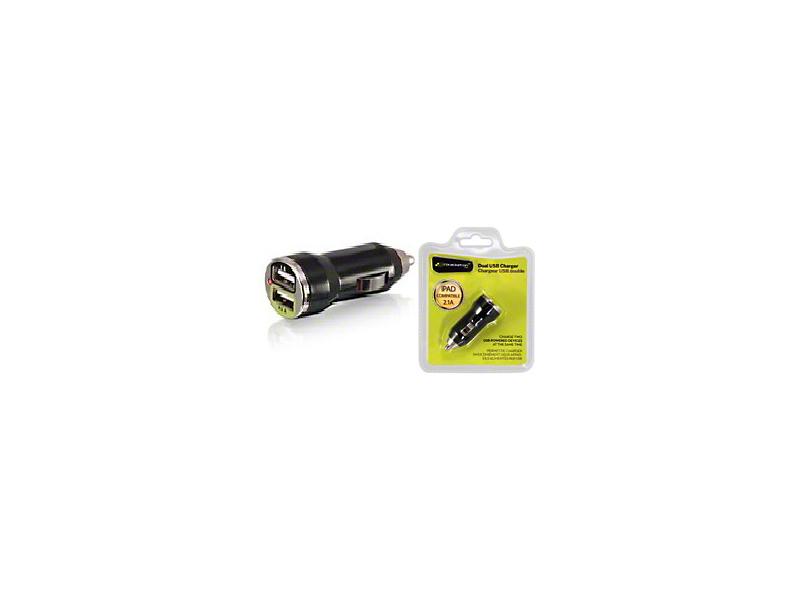 Bracketron Dual USB Charger (87-20 Jeep Wrangler YJ, TJ, JK & JL)