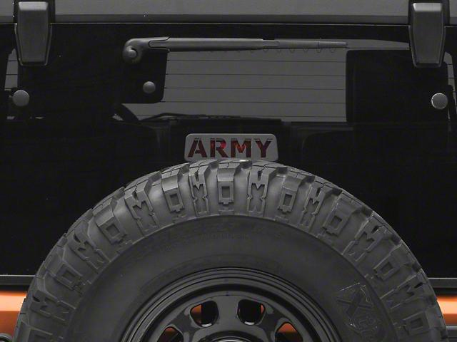 Jeep Tweaks Third Brake Light Guard - Army (07-18 Jeep Wrangler JK)