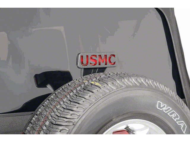 Jeep Tweaks Third Brake Light Guard - United States Marine Corps (07-18 Jeep Wrangler JK)