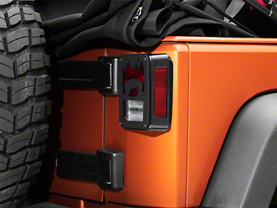 Jeep Tweaks Tail Light Guards - Terrain Design (07-18 Jeep Wrangler JK)