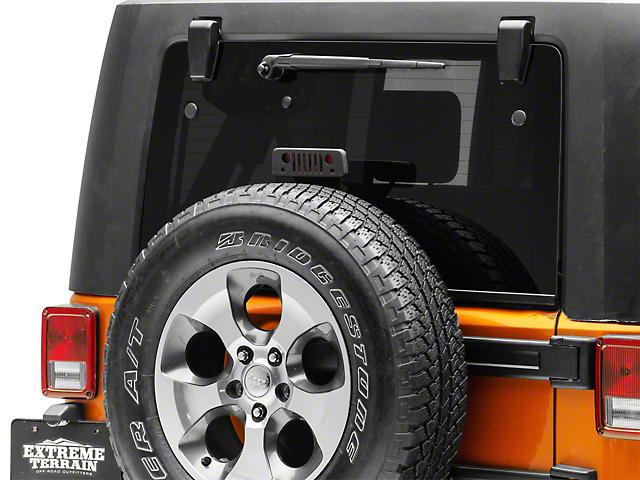 Jeep Tweaks Third Brake Light Guard - Jeep Wrangler Grille (07-18 Jeep Wrangler JK)