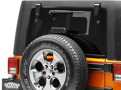 Jeep Tweaks Third Brake Light Guard - Jeep Wrangler Grille (07-18 Jeep Wrangler JK)