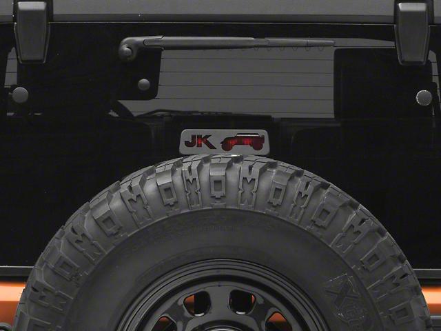 Third Brake Light Guard; JK Jeep Wrangler (07-18 Jeep Wrangler JK)