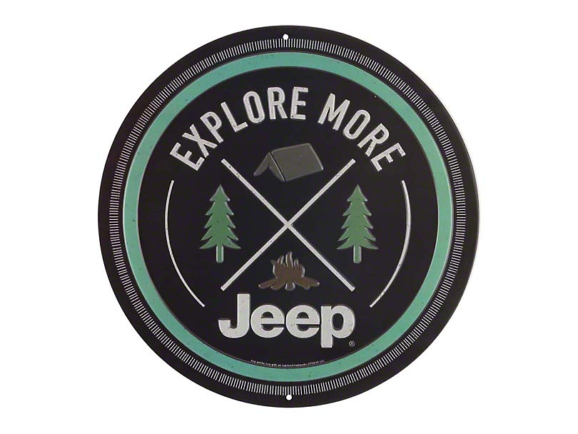 Explore More Jeep Embossed Tin Sign