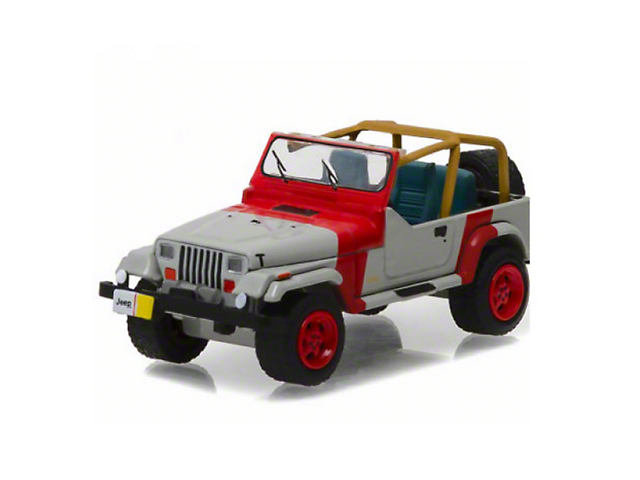 GreenLight Collectibles 1993 Jeep Wrangler YJ Diecast Model - 1:64 Scale