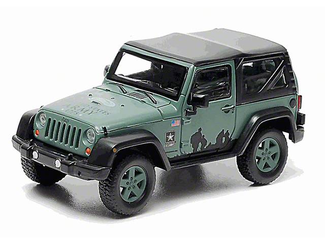 Greenlight Collectibles Jeep Wrangler Jeep Wrangler Jk U S Army