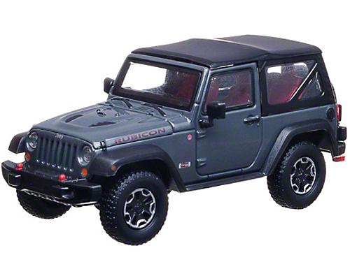 GreenLight Collectibles 2013 Jeep Wrangler JK Rubicon 10th Anniversary Diecast Model - 1:43 Scale