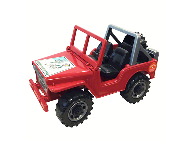 Cross Country Off-Road Jeep Wrangler Toy - 1:16 Scale