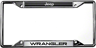 Jeep Wrangler License Plate Frame