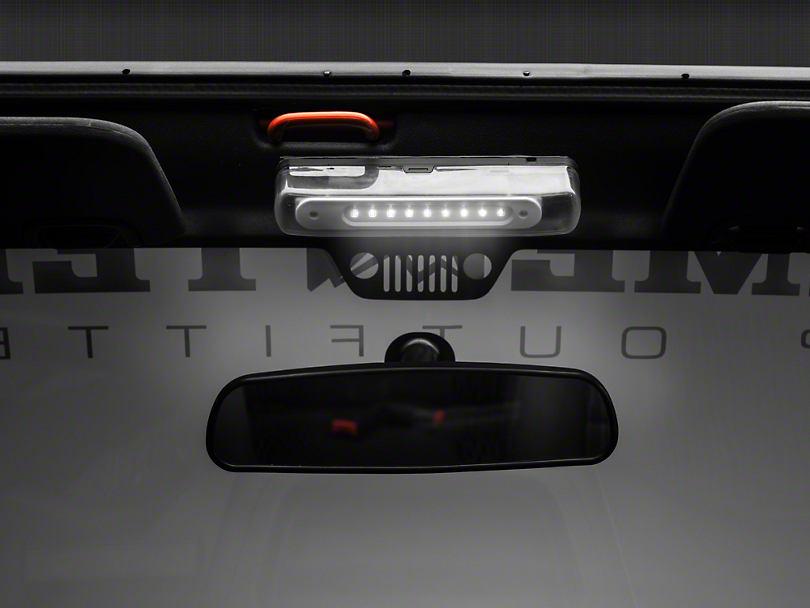 Rugged Ridge Jeep Wrangler Interior Roll Bar Mounted Led