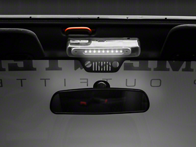 Rugged Ridge Interior Roll Bar Mounted LED Courtesy Light (07-18 Wrangler JK; 2018 Wrangler JL)