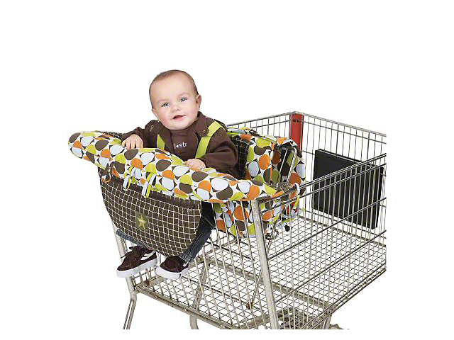 Jeep Dual Purpose Shopping Cart and High Chair Cover