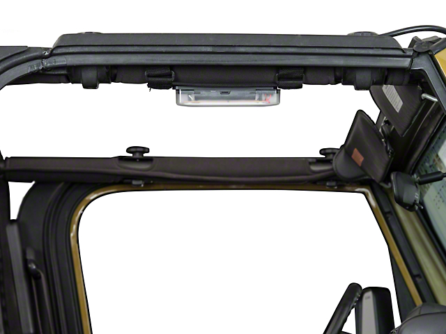Rugged Ridge Interior Courtesy LED Light; Roll Bar Mount