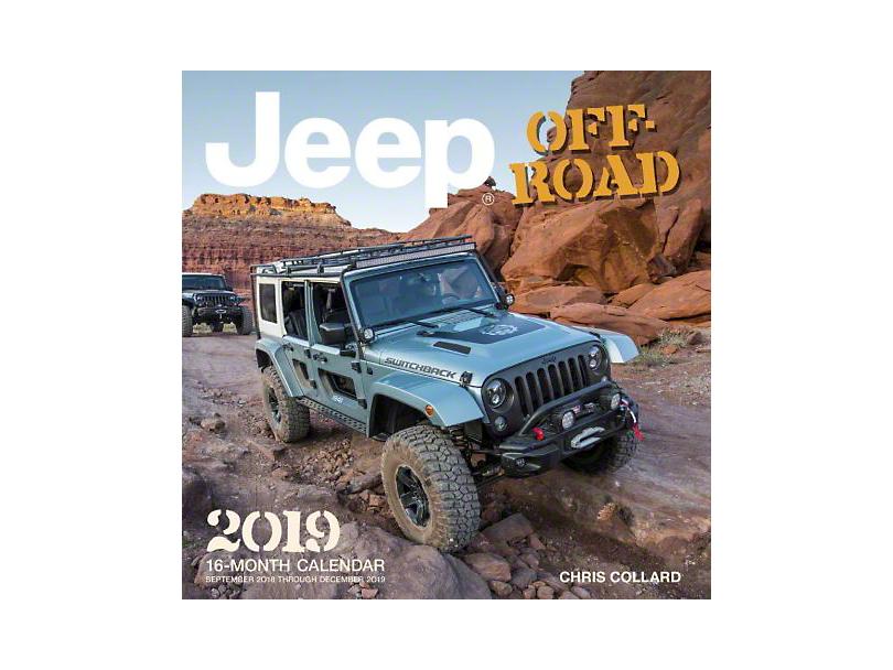 2019 Jeep Off-Road Calendar