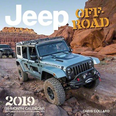 2019 Jeep Off-Road Calendar