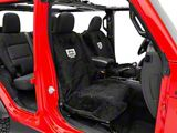 Seat Armour Jeep Wrangler Grille Seat Towel - Black (87-20 Jeep Wrangler YJ, TJ, JK & JL)