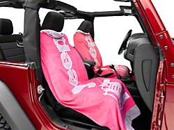 Seat Armour Towel 2 Go - Pink (87-19 Jeep Wrangler YJ, TJ, JK & JL)