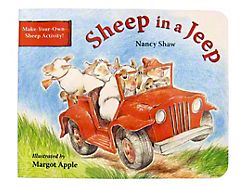Sheep in a Jeep Book
