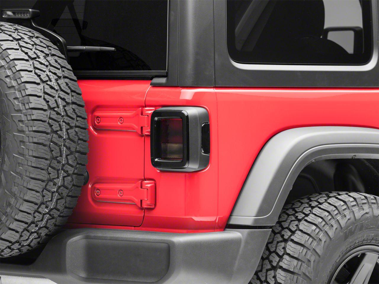 Smoked Tail Light Tint (18-19 Jeep Wrangler JL)