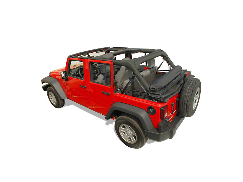 Clover Patch Window Roll (07-18 Jeep Wrangler JK 4 Door)