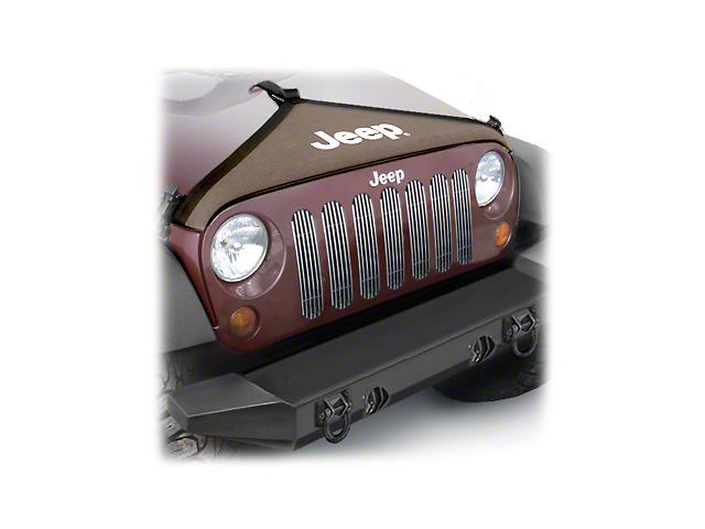 Mopar Hood Cover; Khaki (07-18 Jeep Wrangler JK)