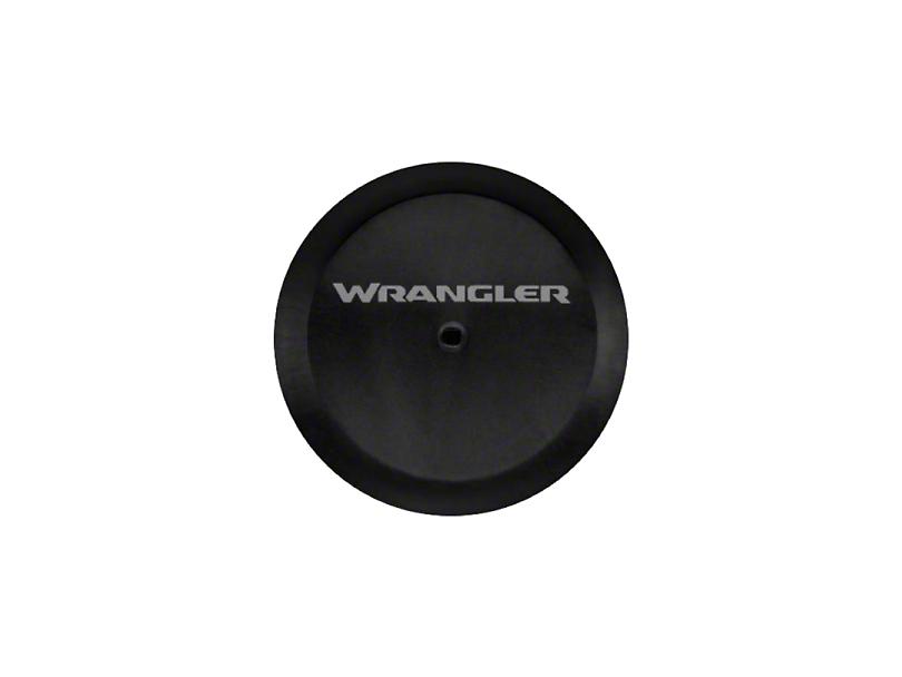 Mopar 32 in. Wrangler Logo Spare Tire Cover - Black (18-19 Jeep Wrangler JL)
