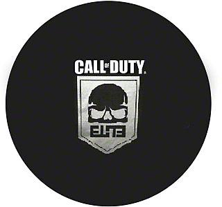 Mopar 32 in. Call of Duty Spare Tire Cover - Black Denim (87-18 Jeep Wrangler YJ, TJ, JK & JL)