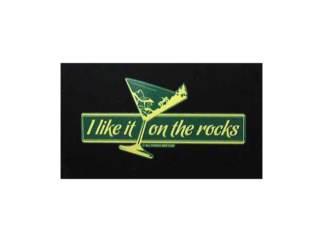 SEC10 I Like It On The Rocks Decal