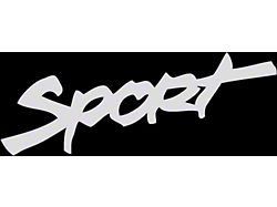 Sport Hood Decal - White (87-19 Jeep Wrangler YJ, TJ, JK & JL)