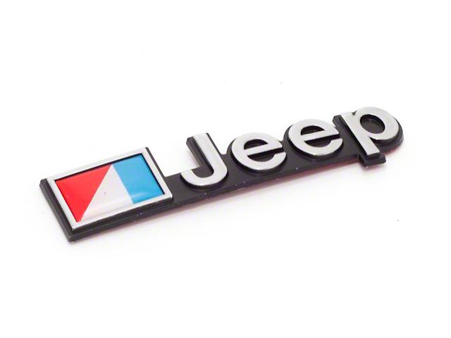 Stick On Jeep Emblem (87-90 Jeep Wrangler YJ)