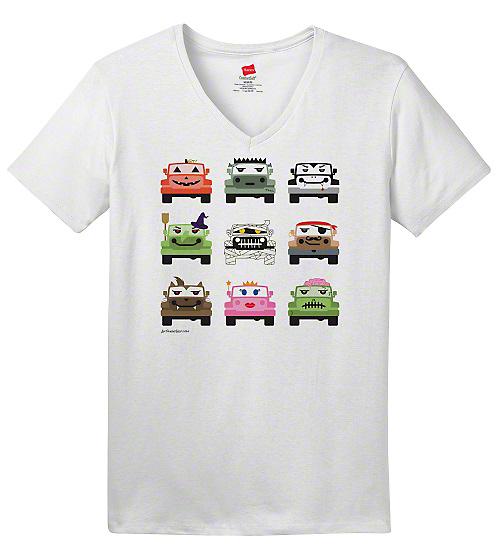 Women's Jeep Monster Mash V-Neck T-Shirt