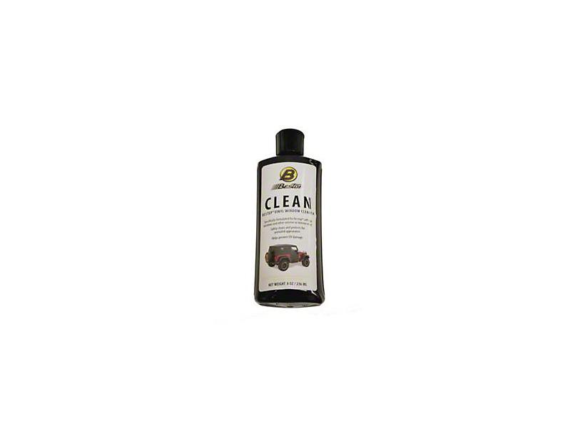 Bestop Soft Top Vinyl Window Cleaner; 8 oz. Bottle